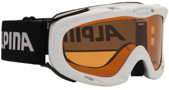 Alpina Ruby S Singleflex Hicon S1 goggles wit/zwart